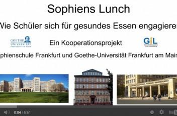 Kochprojekt Sophienslunch