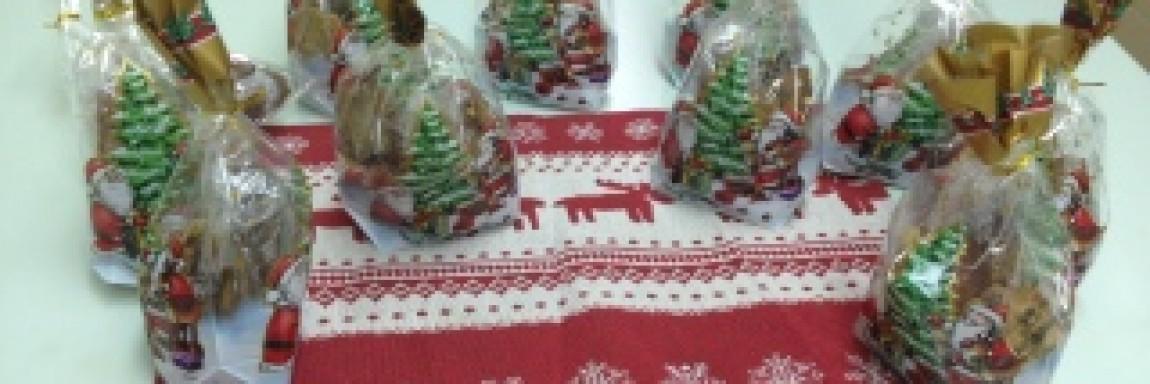 Weihnachtsplätzchen backen mit der Klasse 6a